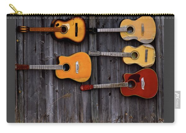 Retired Guitars  Carry-all Pouch