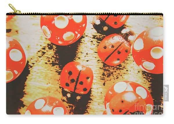 Retro Art Bug Carry-all Pouch