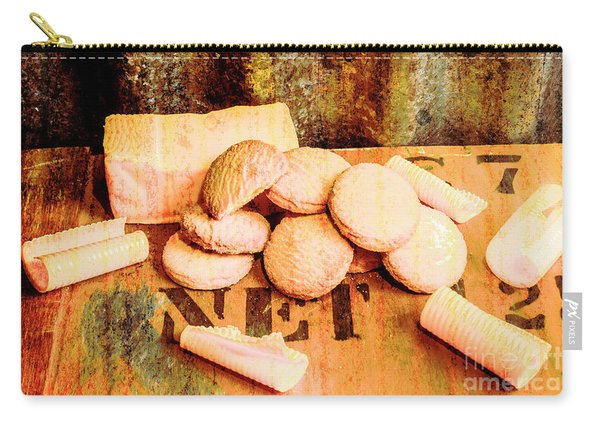 Retro Butter Shortbread Wall Artwork Carry-all Pouch
