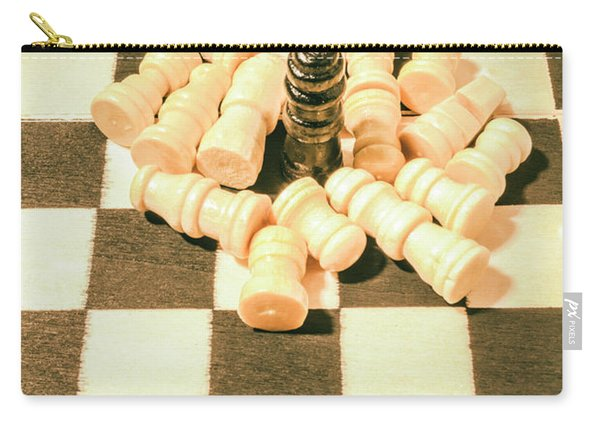 Retro Chess Battles Carry-all Pouch