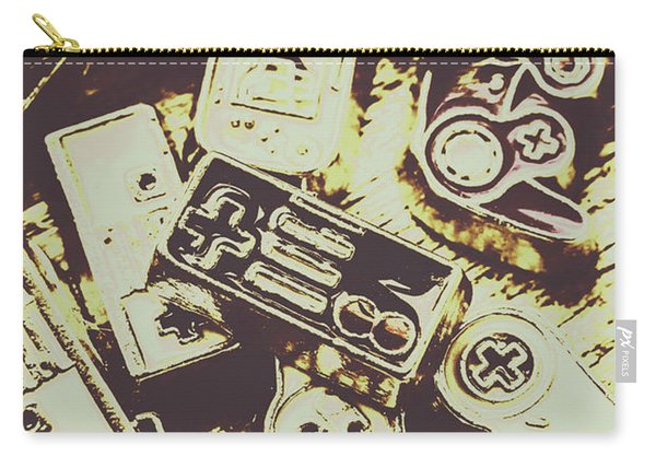 Retro Computer Games Carry-all Pouch