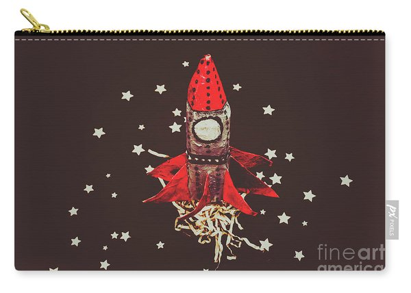 Retro Cosmic Adventure Carry-all Pouch