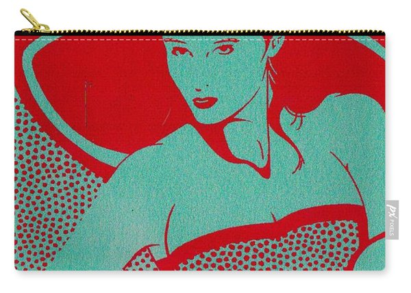 Retro Glam Carry-all Pouch