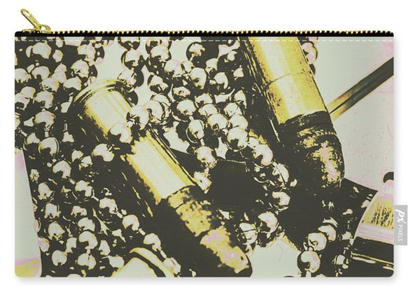 Retro Military Poster Art Carry-all Pouch