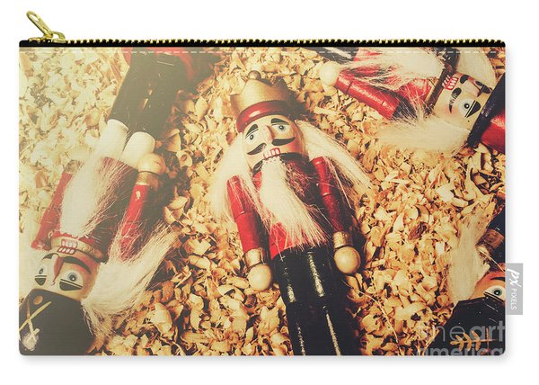 Retro Nutcrackers Carry-all Pouch