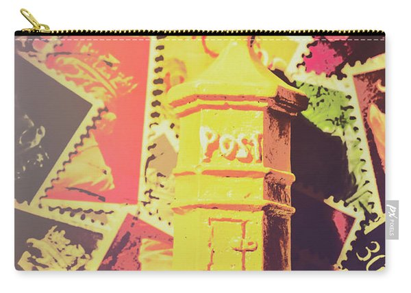 Retro Postal Service Carry-all Pouch