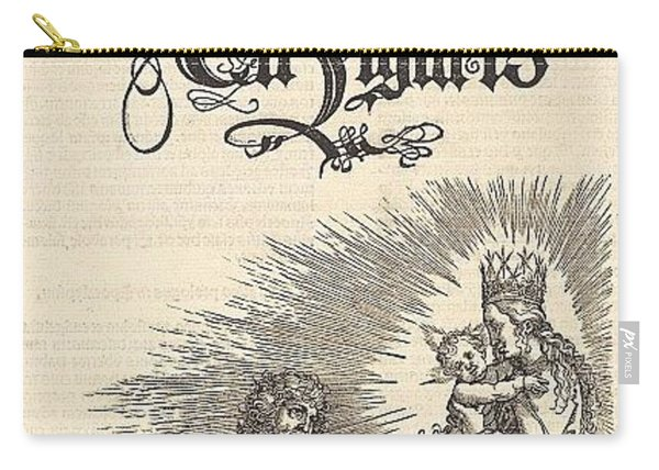 Revelation - The Title Page Of The 2nd Edition Of The Latin-i Durer Engravings Carry-all Pouch