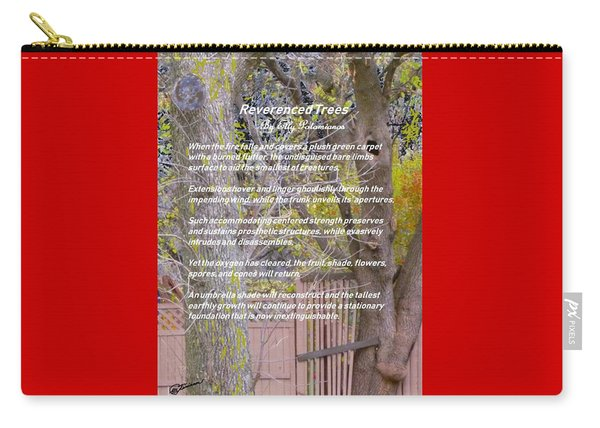 Reverence Of Trees Carry-all Pouch