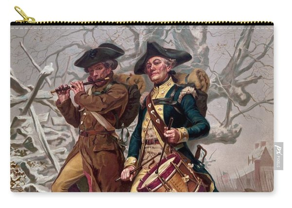 Revolutionary War Soldiers Marching Carry-all Pouch