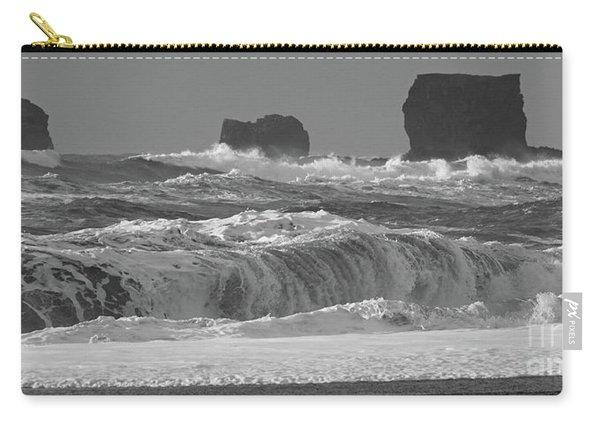 Reynisfjara Beach Vik Iceland 6845 Carry-all Pouch