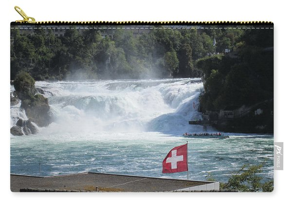 Photograph - Rhine Falls In Switzerland by Travel Pics