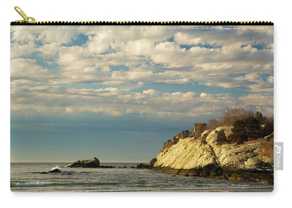 Rhode Island Beach In Winter Carry-all Pouch