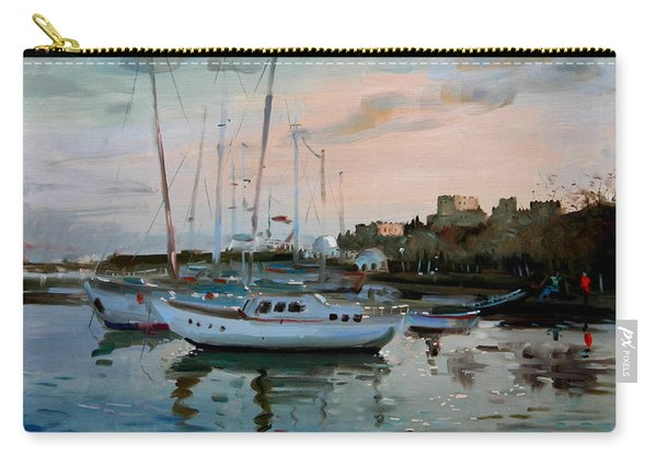 Rhodes Mandraki Harbour Carry-all Pouch