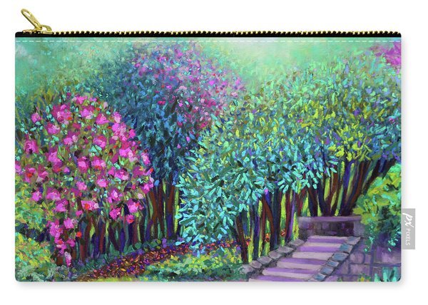 Rhododendrons In The Sunken Garden Carry-all Pouch