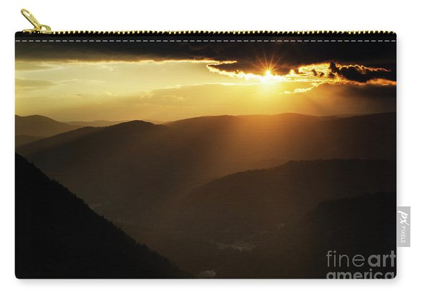 Rhodope Mountains At Sunset Carry-all Pouch