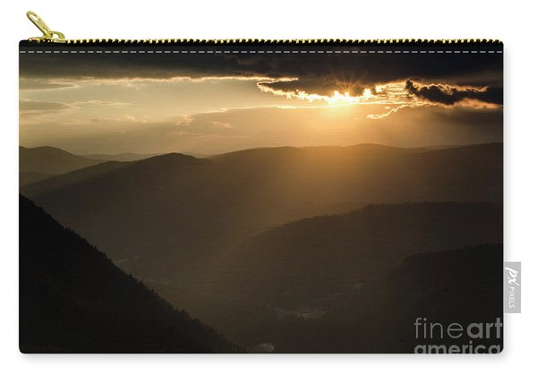 Rhodope Mountains Sunset2 Carry-all Pouch