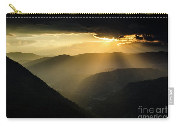 Rhodope Mountains Sunset3 Carry-all Pouch