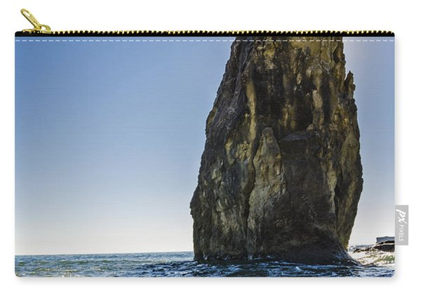 Rialto Beach Sea Stack Carry-all Pouch
