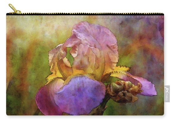 Rich Purple Irises 0056 Idp_22 Carry-all Pouch