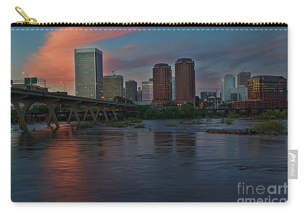 Richmond Dusk Skyline Carry-all Pouch