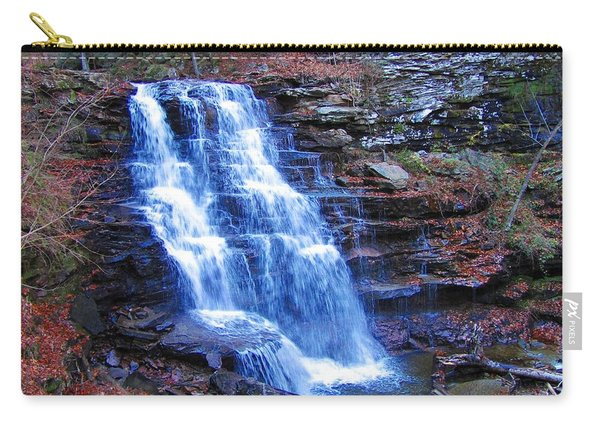 Ricketts Glen Waterfall 3941  Carry-all Pouch