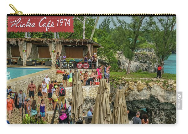 Rick's Cafe In Negril, Jamaica Carry-all Pouch