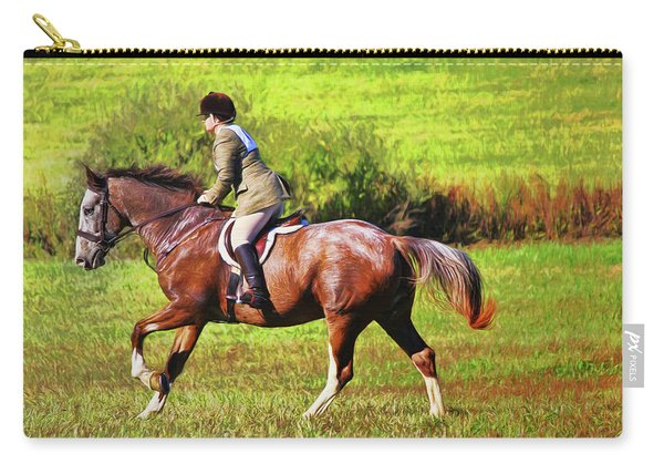 Ride The Brown Horse Carry-all Pouch
