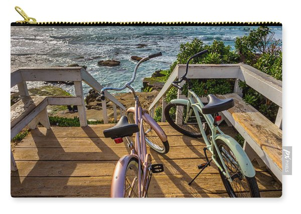Ride With Me To The Beach Carry-all Pouch