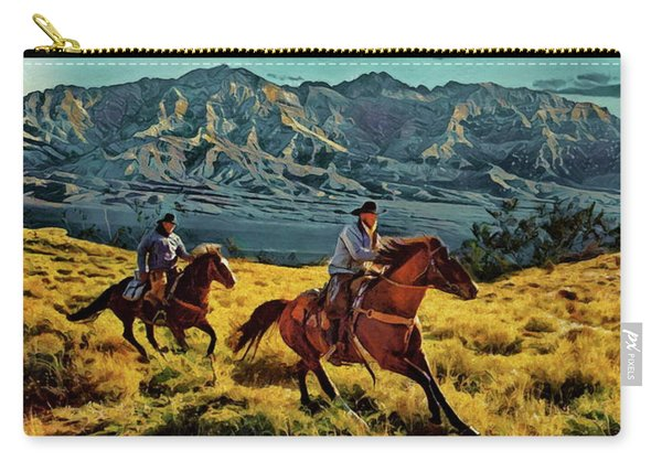 Ride'm Cowboy Carry-all Pouch