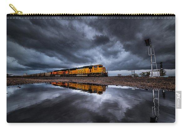 Riding The Storm Out Carry-all Pouch