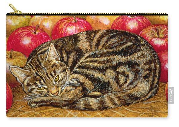Right Hand Apple Cat Carry-all Pouch