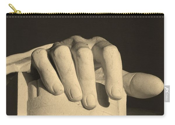 Right Hand Of The Man Carry-all Pouch
