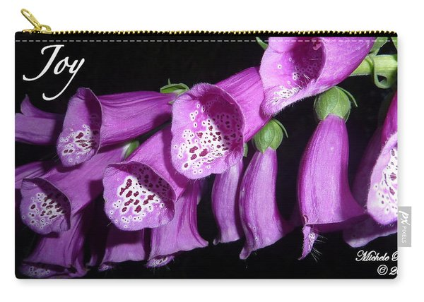 Ring My Bell With Joy Carry-all Pouch