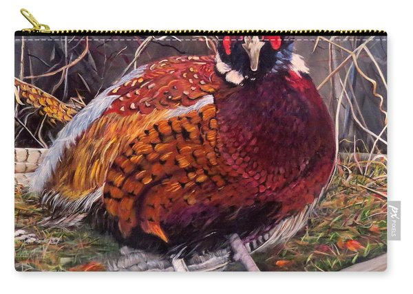 Ring Neck Pheasant Carry-all Pouch