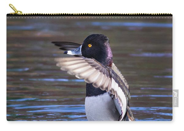 Ring-necked Duck Wings Up Carry-all Pouch