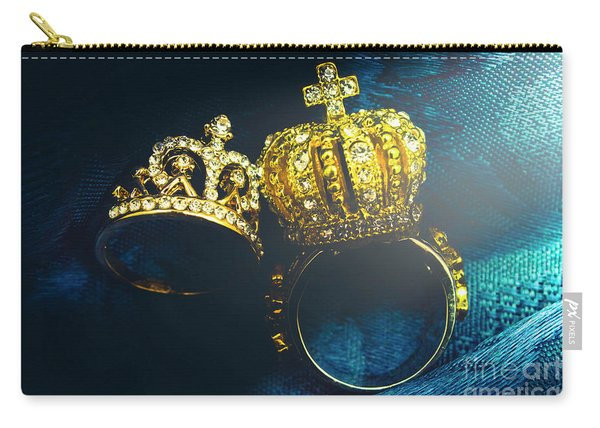 Rings Of Nobility Carry-all Pouch