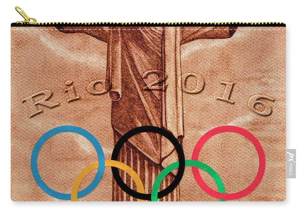 Rio 2016 Christ The Redeemer Statue Artwork Carry-all Pouch