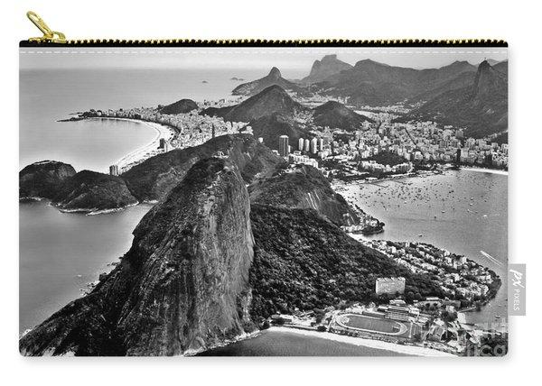 Rio De Janeiro - Sugar Loaf, Corcovado And Baia De Guanabara Carry-all Pouch