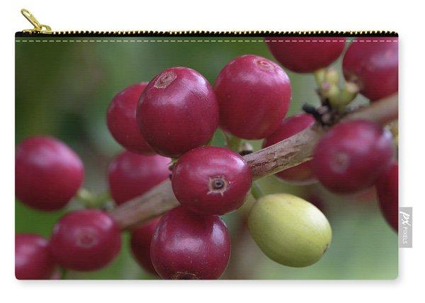 Ripe Kona Coffee Cherries Carry-all Pouch
