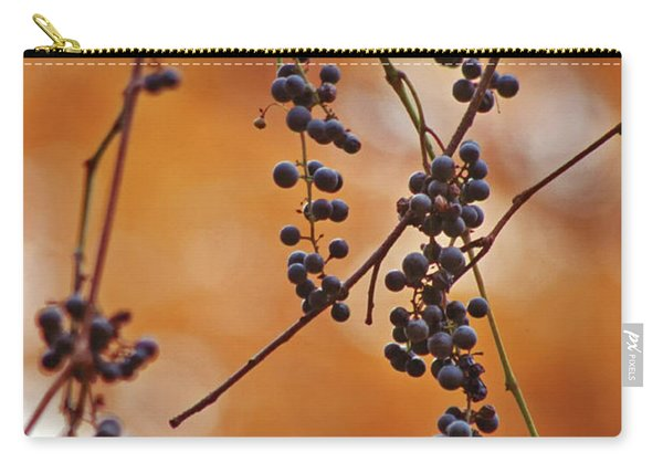 Ripe Wild Grapes  Carry-all Pouch