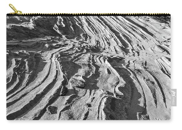 Rippled Sandstone At Waterhole Canyon Carry-all Pouch