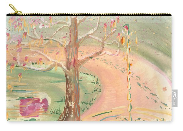 Ripples Of Spring Carry-all Pouch
