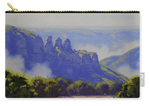 Rising Mist Three Sisters Australia Carry-all Pouch