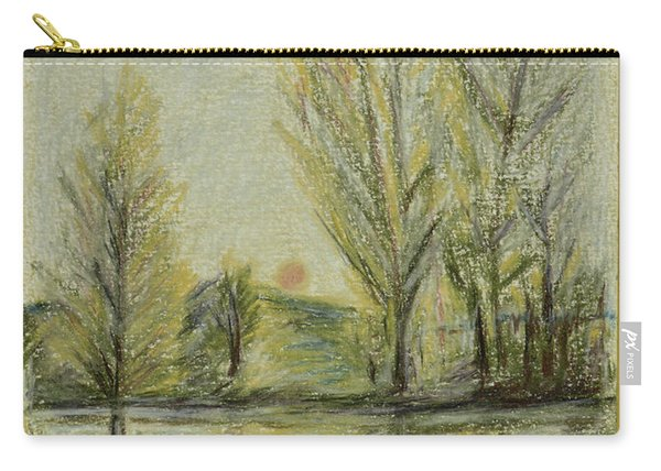 Rising On Country Pond Carry-all Pouch