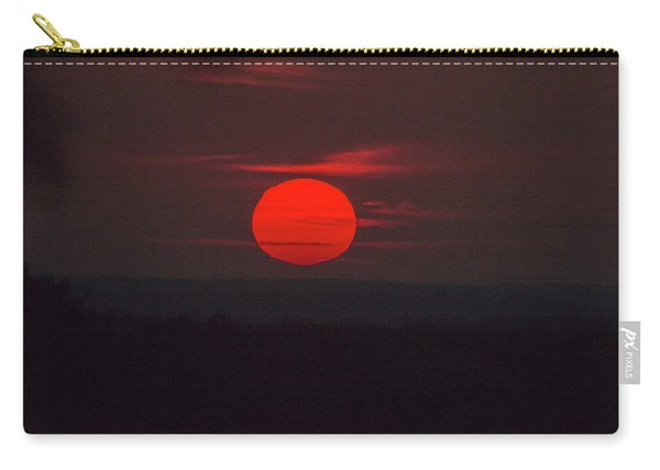 Rising Sun In Texas Carry-all Pouch