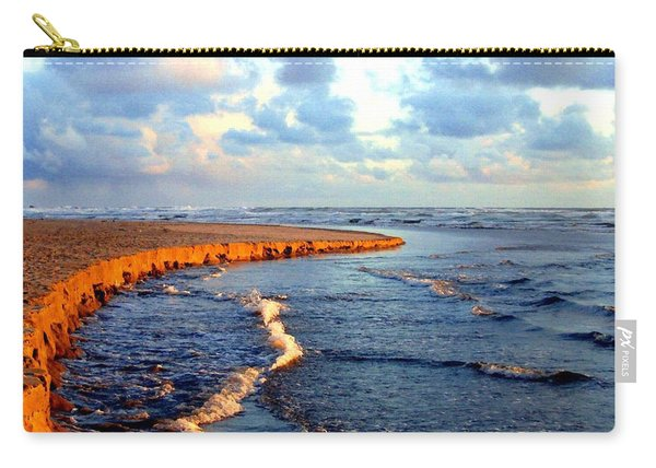 Rising Tide At Sundown  Carry-all Pouch