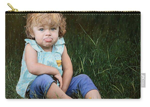 Ritratto Di Bimba Carry-all Pouch