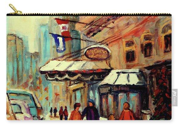 Ritz Carlton Montreal Cityscenes  Carry-all Pouch