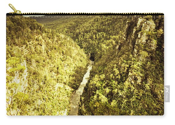 River Below Carry-all Pouch