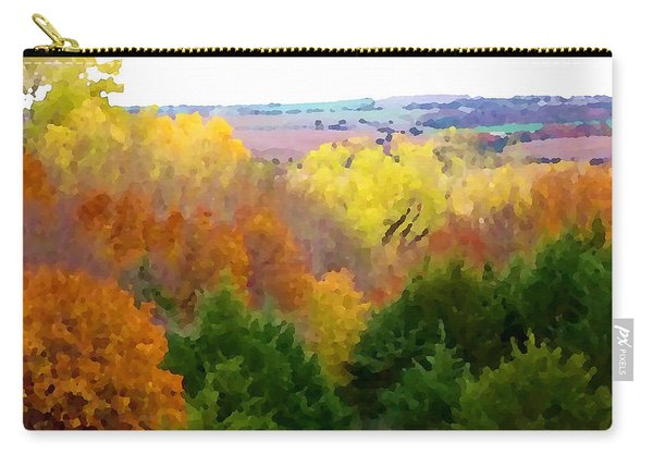 River Bottom In Autumn Carry-all Pouch